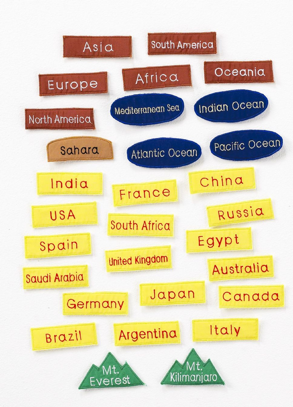 Children s interactive world map cloth wall chart childrens interactive world map cloth wall chart sciox Images